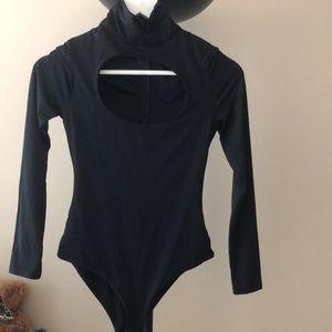 🐕🦺Polly Brand Bodysuit in Black🐕🦺